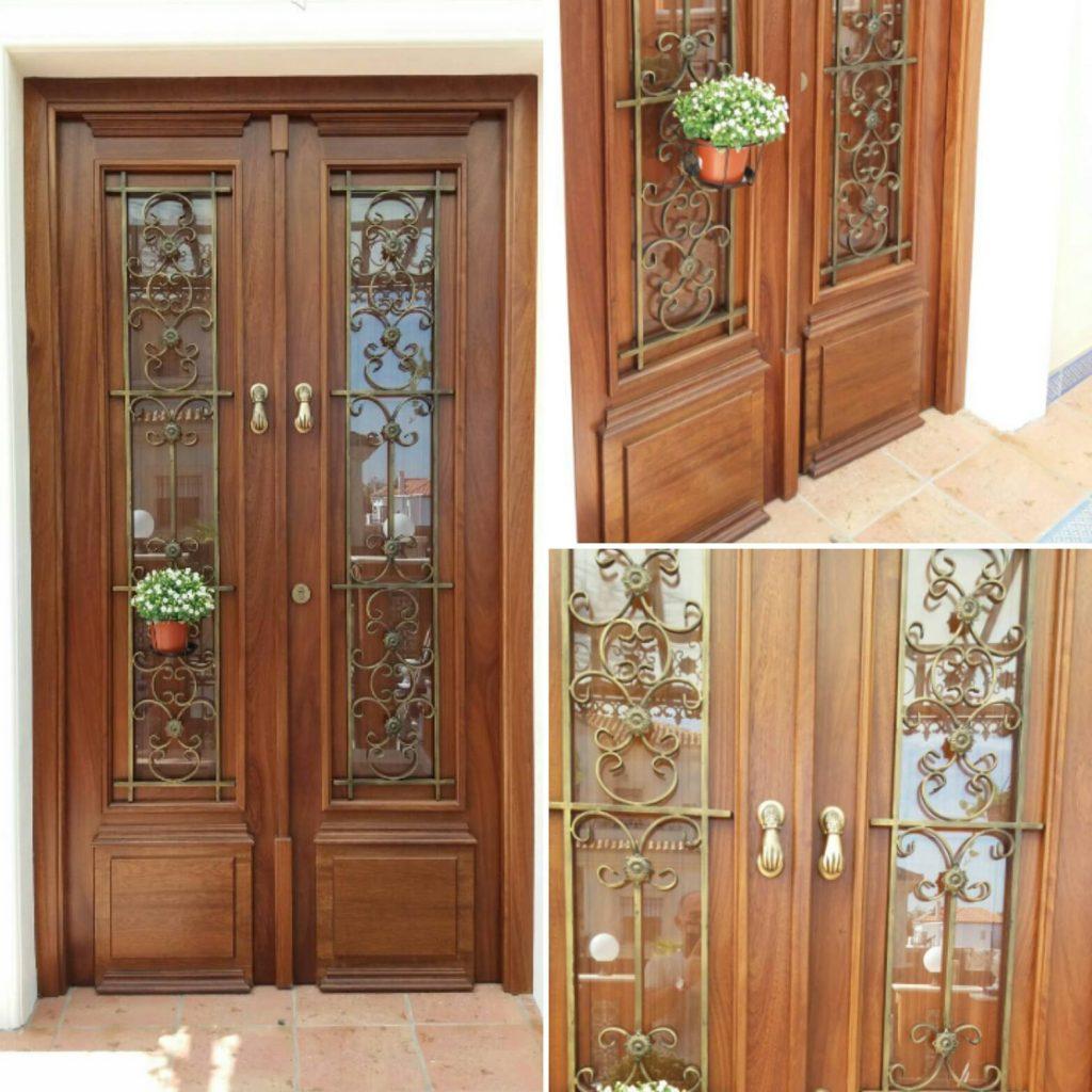 Puerta exterior a medida de Muebles Andévalo