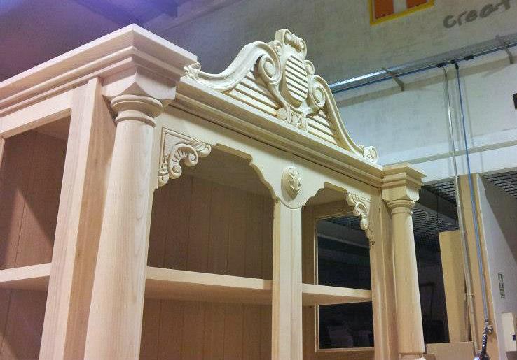 mueble a medida de madera de roble de Muebles Herka