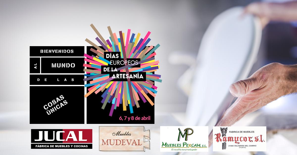 Empresarios del mueble a medida de Valverde del Camino abren sus puertas en los Días Europeos de la Artesanía