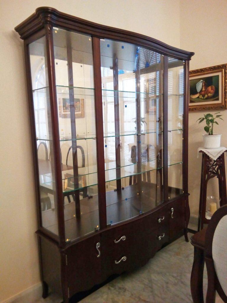 vitrina aparador espejo valarte