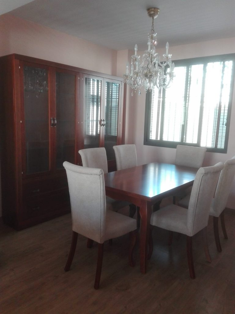 comedor completo muebles jucal