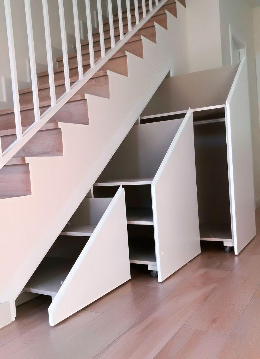 Aprovechar el espacio de tu casa es posible con el mueble a medida
