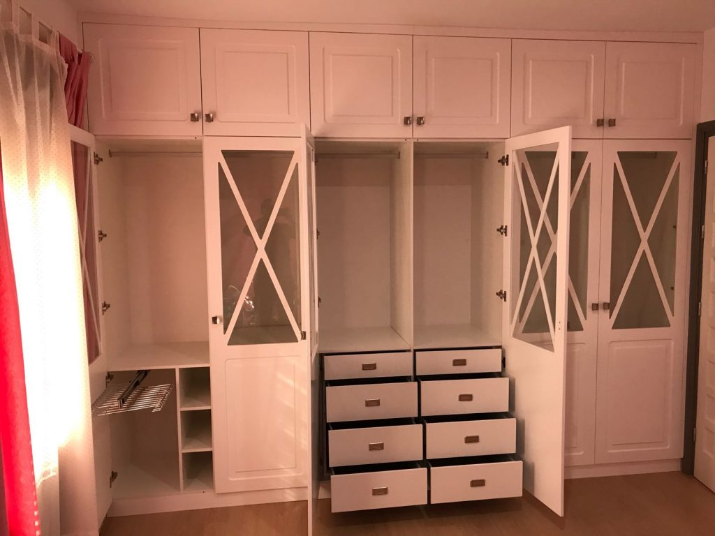 armario seis puertas nuevo huvi
