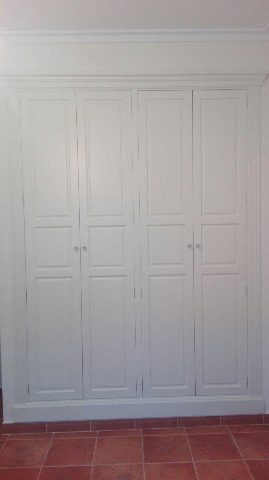 habitación blanca y terciopelo