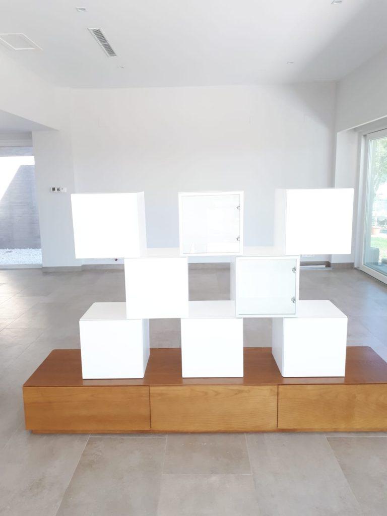 Separador de ambientes de muebles mudeval