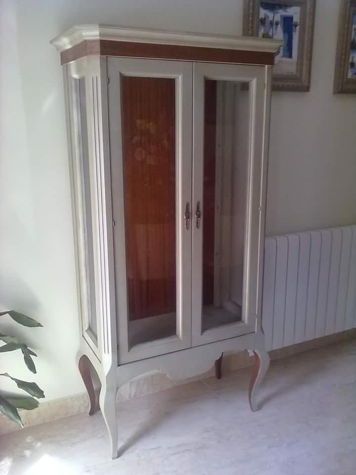 vitrina clásica muebles jucal