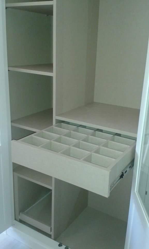 armario blanco a medida muebles jucal