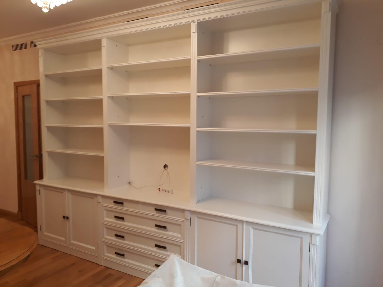 Librería fabricada a medida