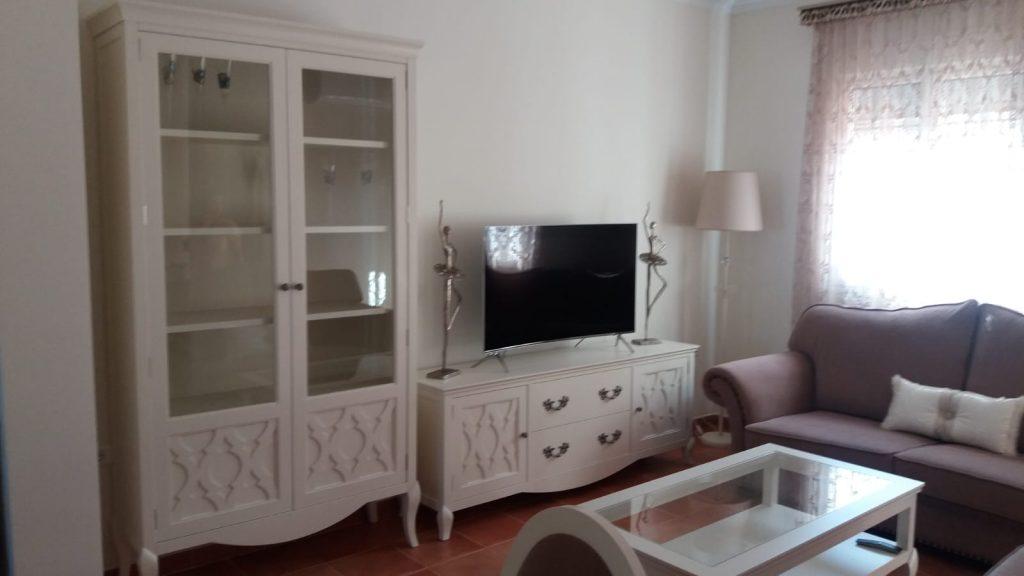 salón blanco roto Muebles Valarte