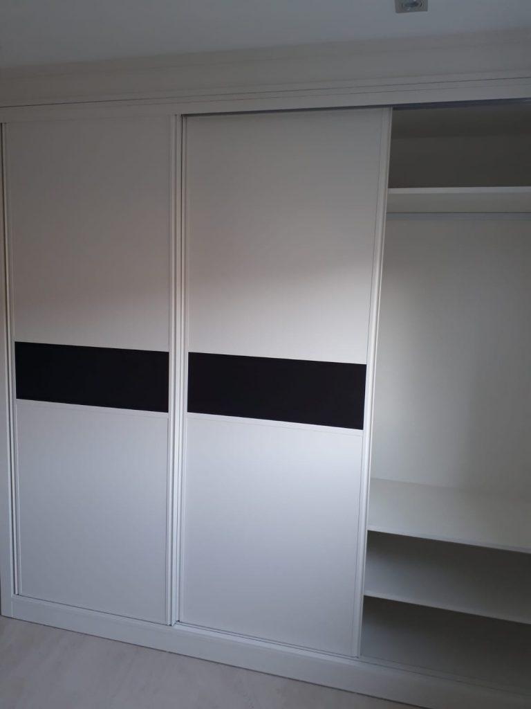 armario blanco a medida