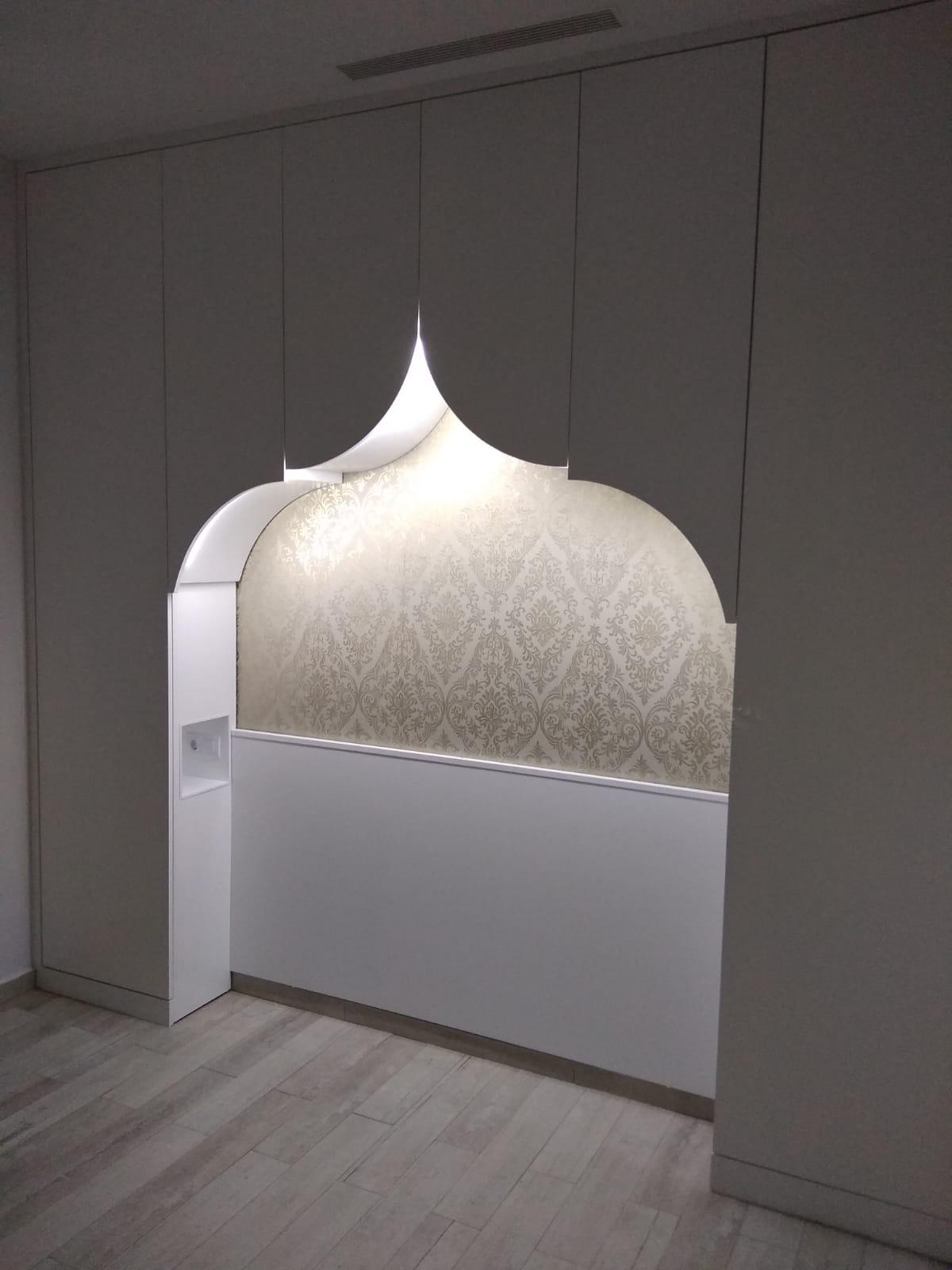 """Dormitorio de """"Las mil y una noches"""""""