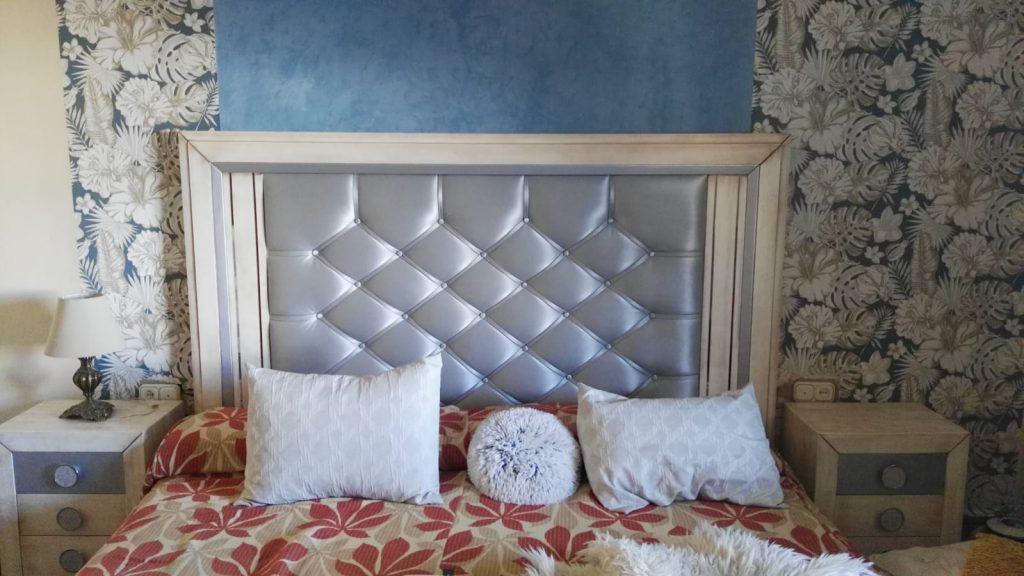 dormitorio madera de haya