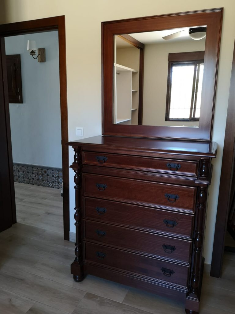 cómoda y espejo muebles jucal