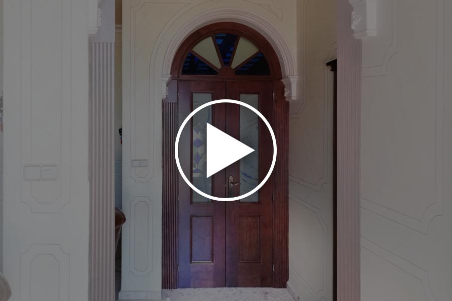 """Descubre """"Cómo se hace"""": puerta de paso a medida"""