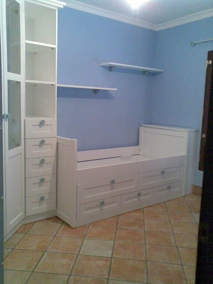 Habitación infantil Muebles Jucal