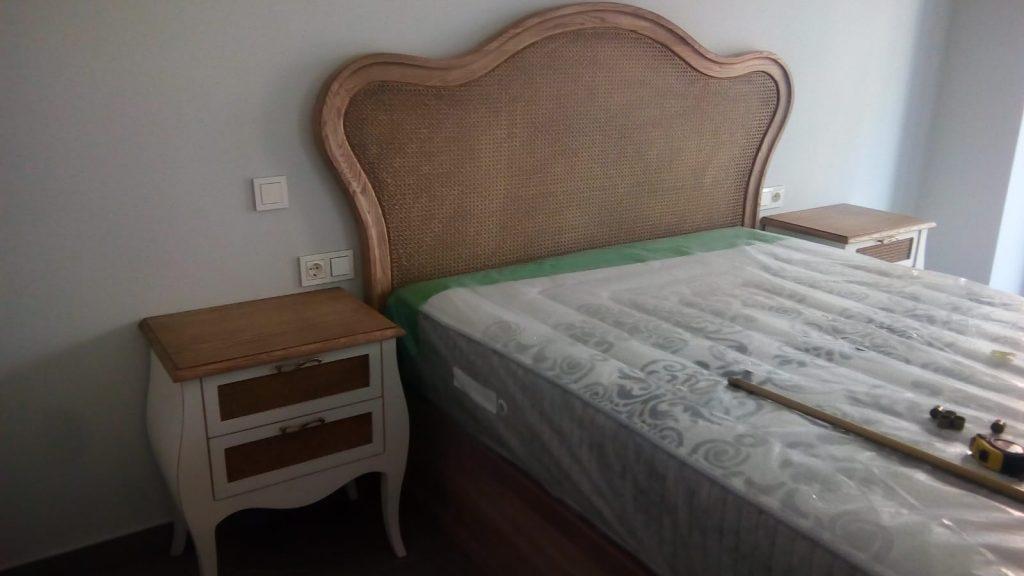 Dormitorio a medida que recuerda al pasado