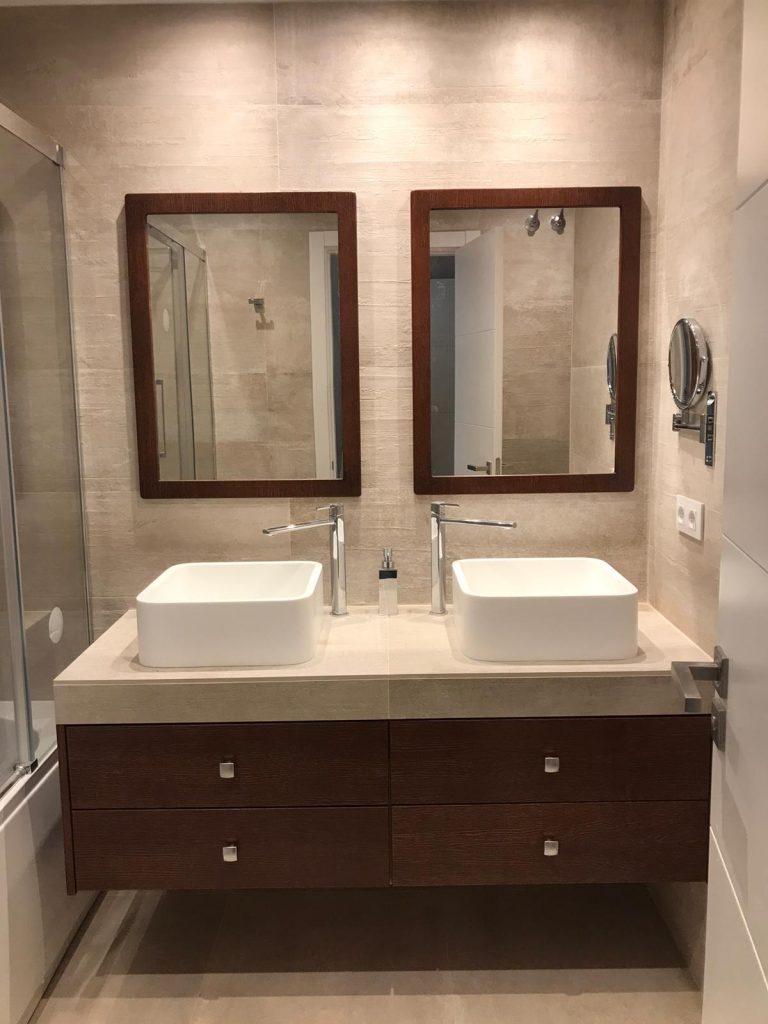 baño doble nuevo huvi