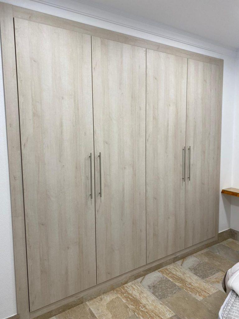 Puertas armario color roble nuevo huvi