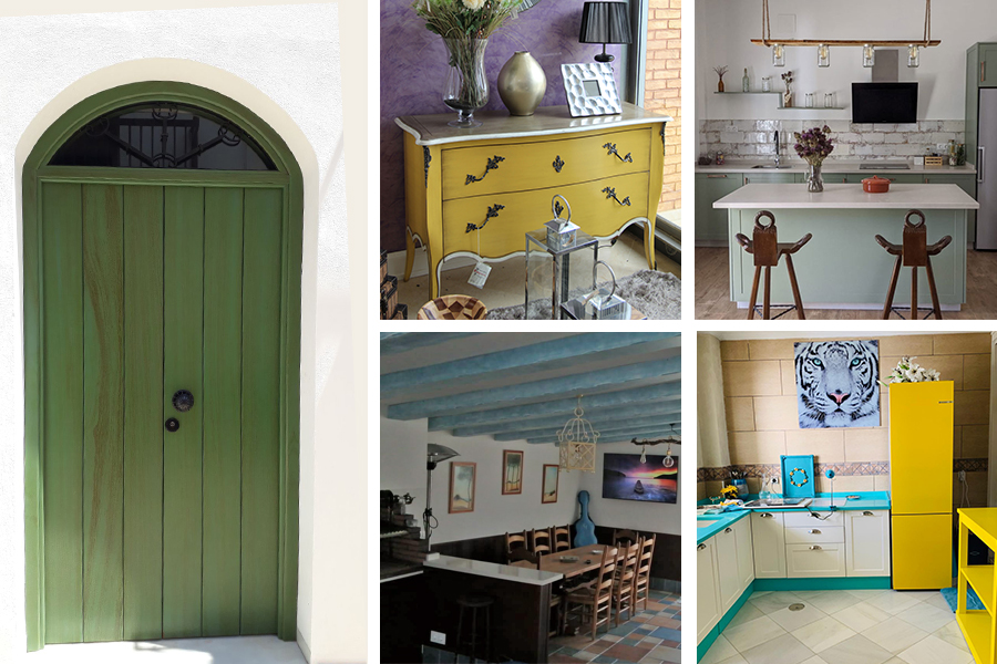Personaliza tu hogar y ¡da color a tus muebles!