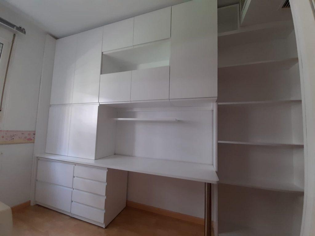 mesa de estudio y almacenamiento Muebles Mudeval